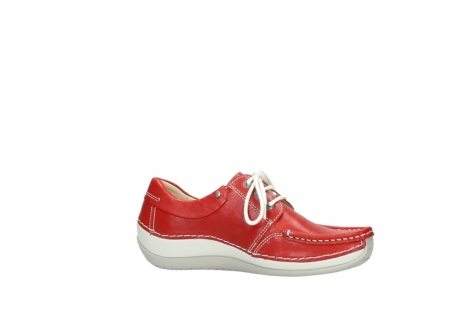 wolky lace up shoes 04805 azura 70570 red summer leather_14