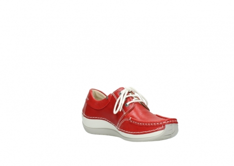 wolky lace up shoes 04805 azura 70570 red summer leather_16
