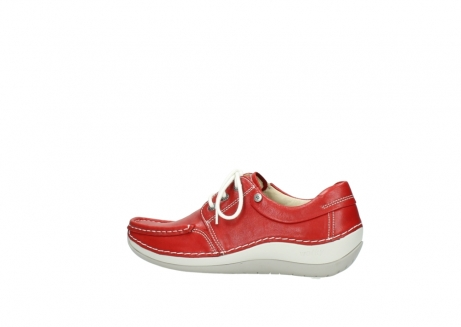 wolky lace up shoes 04805 azura 70570 red summer leather_2