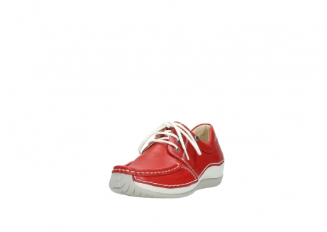 wolky lace up shoes 04805 azura 70570 red summer leather_21