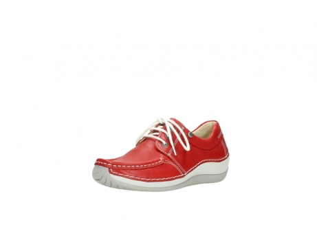 wolky lace up shoes 04805 azura 70570 red summer leather_22