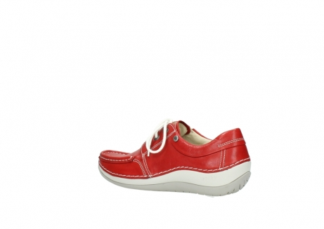 wolky lace up shoes 04805 azura 70570 red summer leather_3