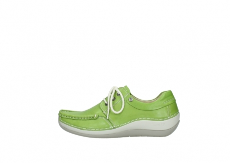 wolky lace up shoes 04805 azura 70750 lime leather_1