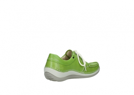 wolky lace up shoes 04805 azura 70750 lime leather_10