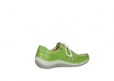 wolky lace up shoes 04805 azura 70750 lime leather_11