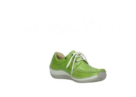 wolky lace up shoes 04805 azura 70750 lime leather_16