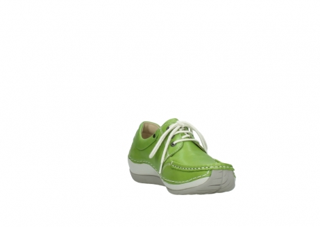 wolky lace up shoes 04805 azura 70750 lime leather_17