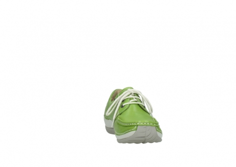 wolky lace up shoes 04805 azura 70750 lime leather_18
