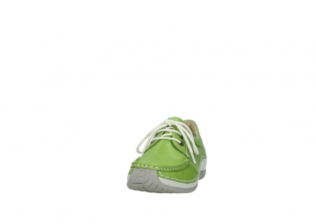 wolky lace up shoes 04805 azura 70750 lime leather_20