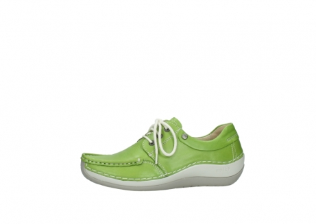 wolky lace up shoes 04805 azura 70750 lime leather_24