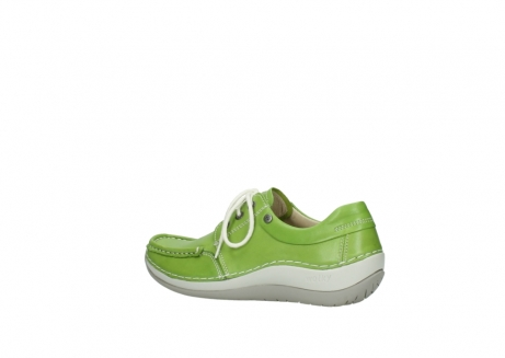 wolky lace up shoes 04805 azura 70750 lime leather_3