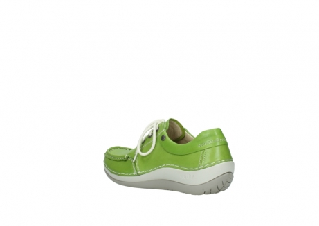 wolky lace up shoes 04805 azura 70750 lime leather_4
