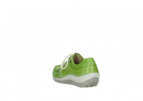 wolky lace up shoes 04805 azura 70750 lime leather_5