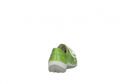 wolky lace up shoes 04805 azura 70750 lime leather_8