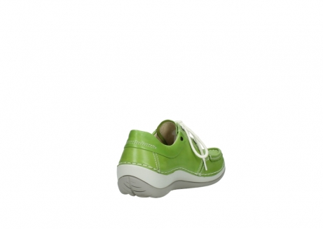 wolky lace up shoes 04805 azura 70750 lime leather_9