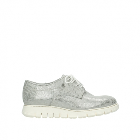wolky chaussures a lacets 05025 daylight 20120 cuir blanc