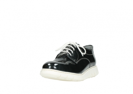 wolky lace up shoes 05025 daylight 60270 antracite patent leather_21