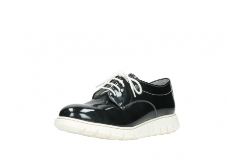 wolky lace up shoes 05025 daylight 60270 antracite patent leather_22