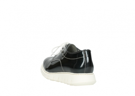 wolky lace up shoes 05025 daylight 60270 antracite patent leather_5