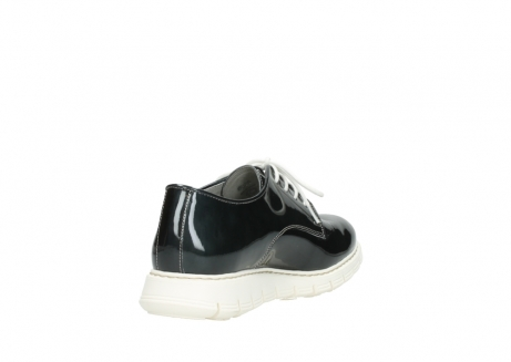 wolky lace up shoes 05025 daylight 60270 antracite patent leather_9