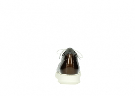 wolky lace up shoes 05025 daylight 60320 bronze patent leather_7