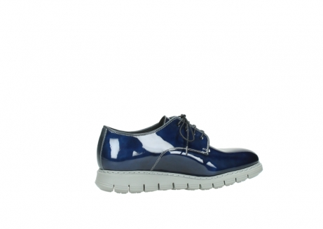 wolky chaussures a lacets 05025 daylight 60800 cuir verni bleu_12