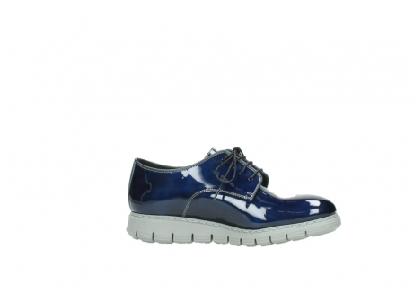 wolky chaussures a lacets 05025 daylight 60800 cuir verni bleu_14