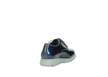 wolky chaussures a lacets 05025 daylight 60800 cuir verni bleu_9