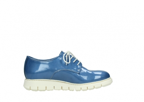 wolky lace up shoes 05025 daylight 60820 denim blue patent leather_13