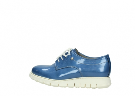 wolky lace up shoes 05025 daylight 60820 denim blue patent leather_2