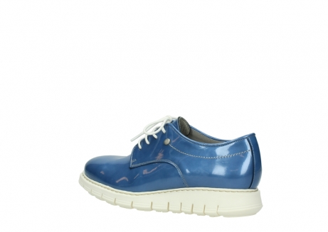 wolky lace up shoes 05025 daylight 60820 denim blue patent leather_3