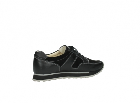 wolky lace up shoes 05800 e walk 20000 black leather_11