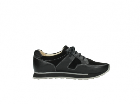 wolky lace up shoes 05800 e walk 20000 black leather_13