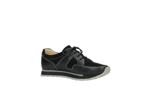 wolky lace up shoes 05800 e walk 20000 black leather_15