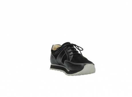 wolky lace up shoes 05800 e walk 20000 black leather_17