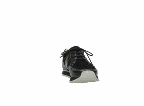 wolky lace up shoes 05800 e walk 20000 black leather_18