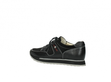 wolky lace up shoes 05800 e walk 20000 black leather_3