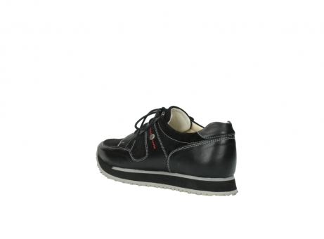 wolky lace up shoes 05800 e walk 20000 black leather_4