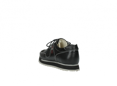 wolky lace up shoes 05800 e walk 20000 black leather_5