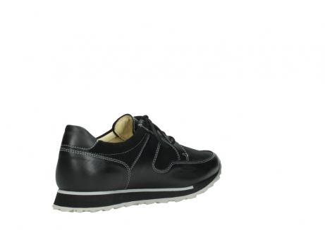 wolky lace up shoes 05800 e walk 20009 black stretch leather_10