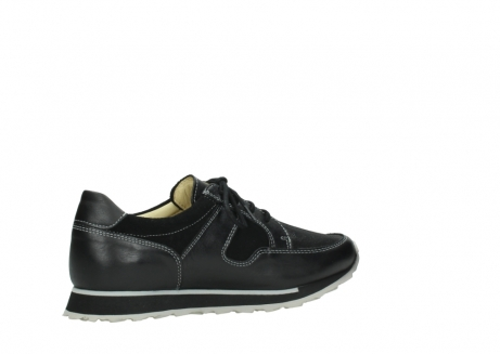 wolky lace up shoes 05800 e walk 20009 black stretch leather_11