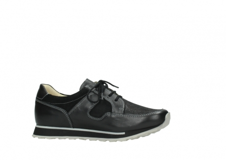 wolky lace up shoes 05800 e walk 20009 black stretch leather_14