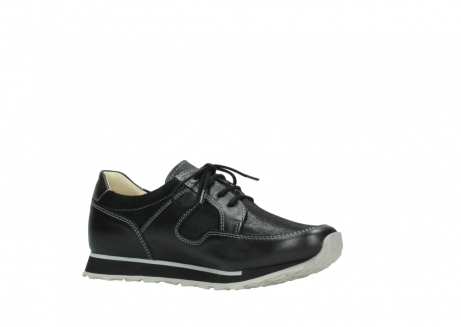 wolky lace up shoes 05800 e walk 20009 black stretch leather_15