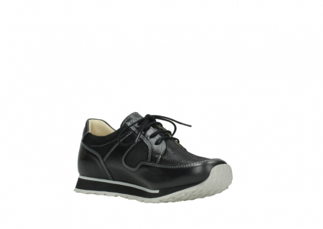 wolky lace up shoes 05800 e walk 20009 black stretch leather_16
