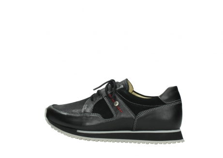 wolky lace up shoes 05800 e walk 20009 black stretch leather_2