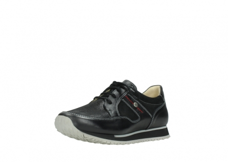wolky lace up shoes 05800 e walk 20009 black stretch leather_22