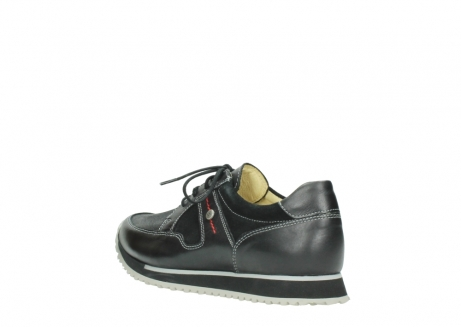 wolky veterschoenen 05800 e walk 20009 zwart stretch leer_4