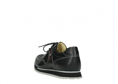 wolky lace up shoes 05800 e walk 20009 black stretch leather_5