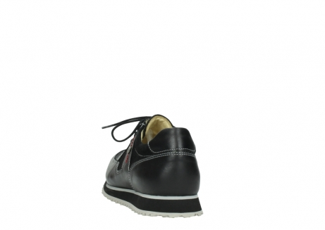 wolky lace up shoes 05800 e walk 20009 black stretch leather_6