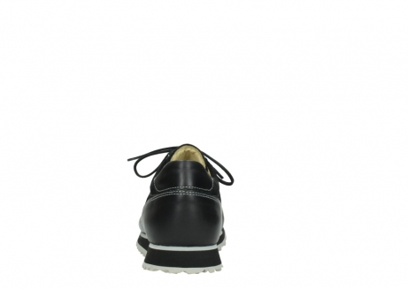 wolky lace up shoes 05800 e walk 20009 black stretch leather_7